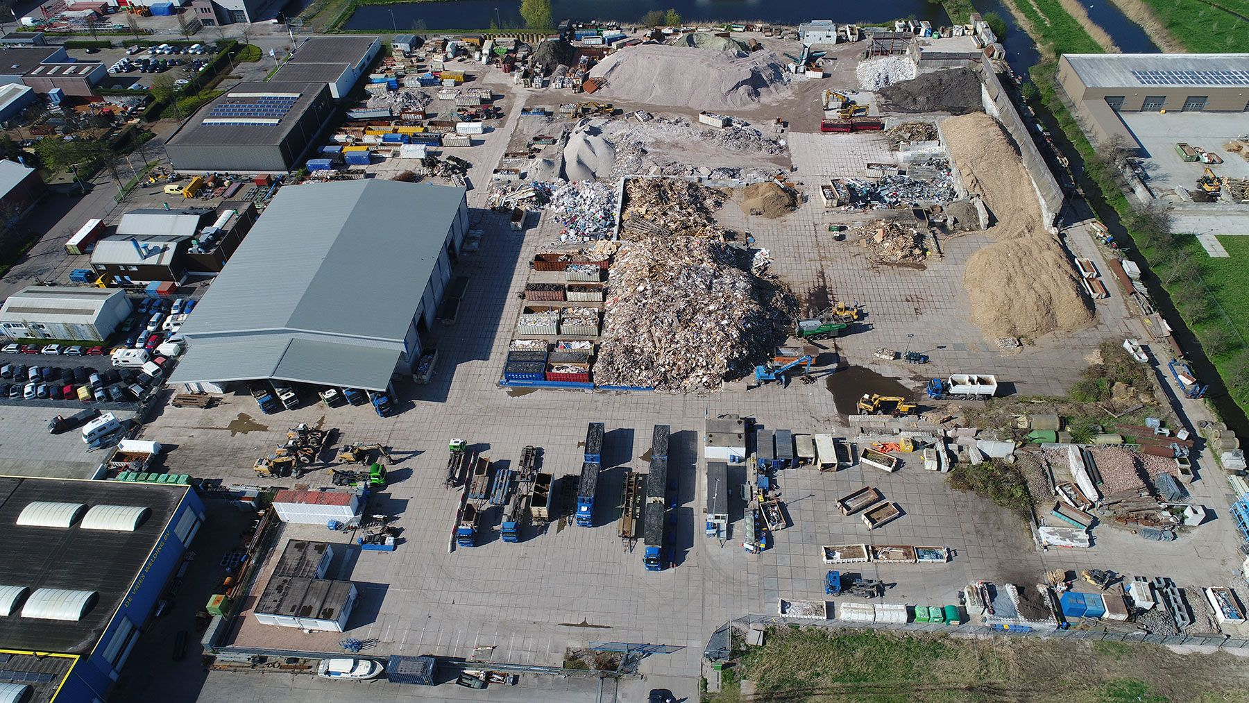 Afvalcontainers Zuid Holland Korevaar Recycling