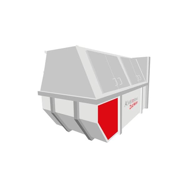 Container Huren Zuid Holland Afvalcontainer 9m3 gesloten